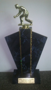 NZDG Indoor Bowls Interzone Champion