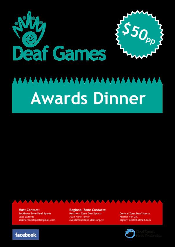 NZDG 2014 Awards Dinner Poster